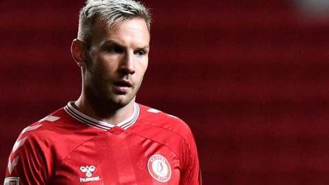 Bristol City midfielder Andreas Weimann