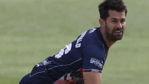 Tim Groenewald took four wickets in his four T20 Blast appearances for Kent