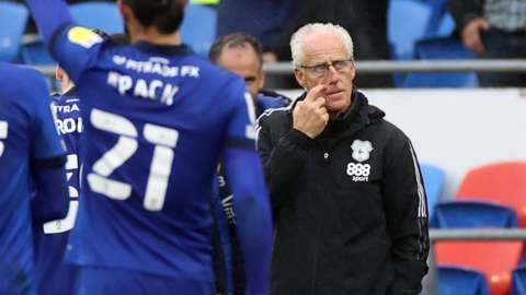 Cardiff City manager Mick McCarthy