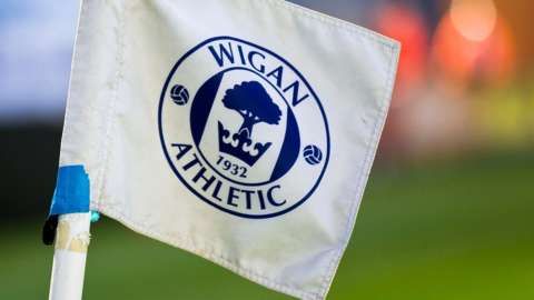 Wigan Athletic corner flag
