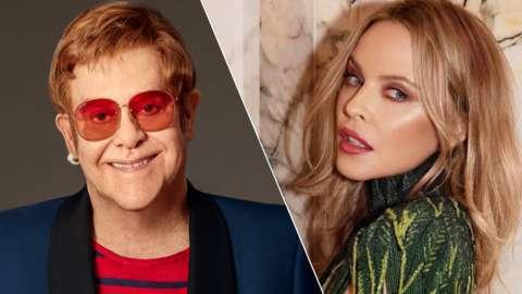 Elton John, Kylie Minogue