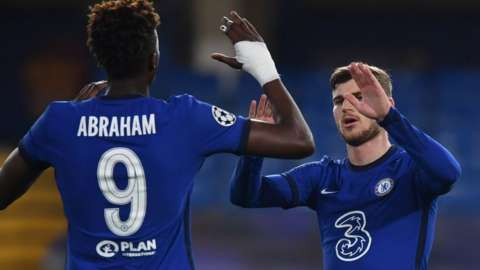 Timo Werner and Tammy Abraham