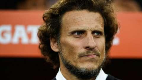 Diego Forlan as head coach of Penarol