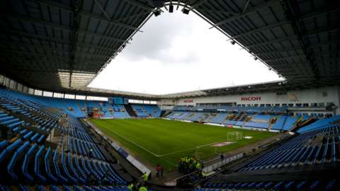 The Sky Blues will return to Coventry in August after two seasons in Birmingham at St Andrew's