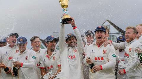 Essex win title