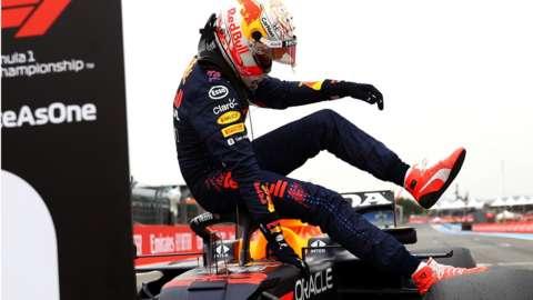 Verstappen beats Hamilton to pole in France