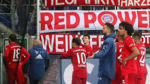 Bayern players ask their fans to stop