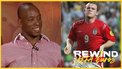 Ian Wright and Wayne Rooney