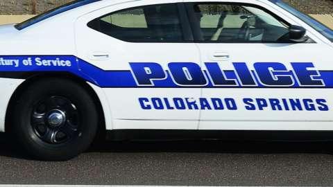 A Colorado Springs police car. File photo