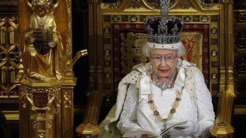 Queen Elizabeth queen's speech