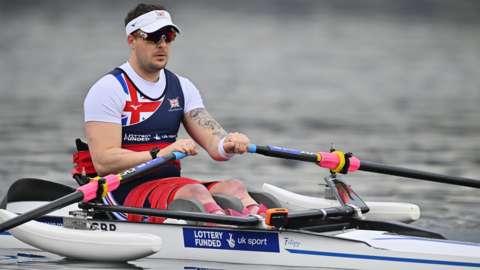 GB rower Ben Pritchard