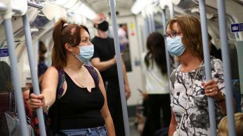People on the London Underground