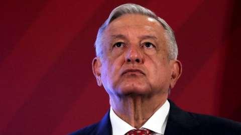 File photo of Mexico's President Andres Manuel Lopez Obrador