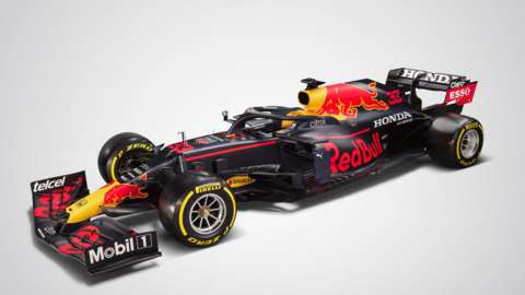 The RB16B car