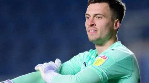 Oxford goalkeeper Jack Stevens