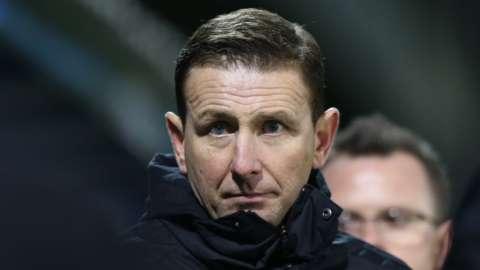 Northern Ireland manager Ian Baraclough
