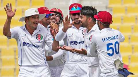 Afghanistan beat Zimbabwe in abu Dhabi