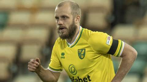 Teemu Pukki in action for Norwich