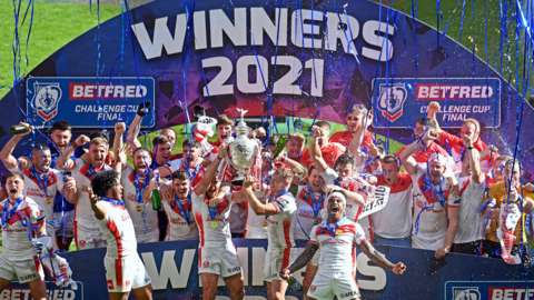 St Helens' 13th Challenge Cup triumph was also their first in 13 years