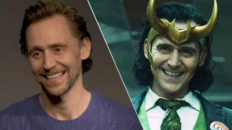 Tom Hiddleston & Tom Hiddleston as Loki