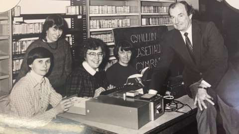 The early days of Talking Books in 1970s when it was known as the Welsh Cassette Scheme