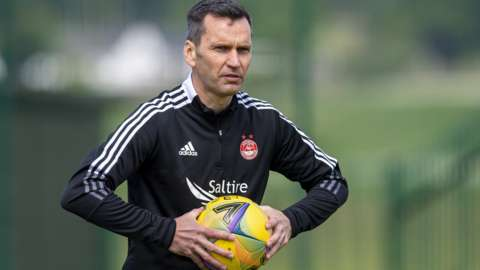 Aberdeen manager Stephen Glass has worked with Jack Gurr before