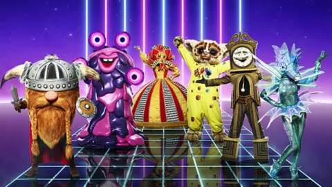 Some of the costumes in the Masked Singer