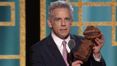 Ben Stiller at the Golden Globe Awards
