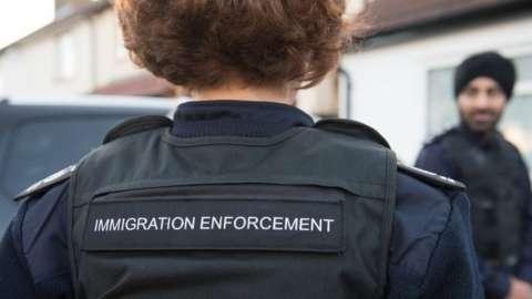 Immigration raid