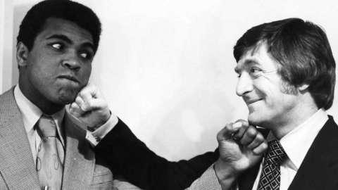 Muhammad Ali and Michael Parkinson