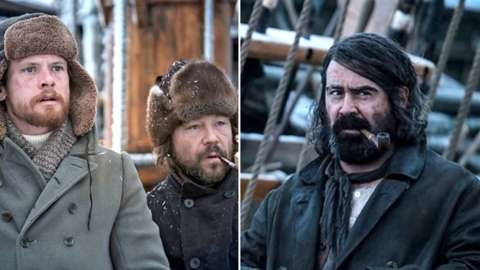 Patrick Sumner (Jack O'Connell), Captain Brownlee (Stephen Graham), Henry Drax (Colin Farrell)