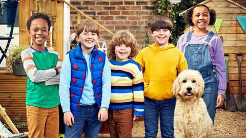 Young actors in new Biff & Chip series