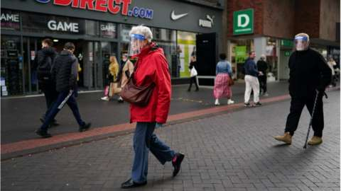 Shoppers in Middlesbrough