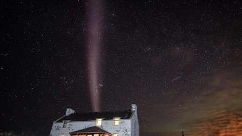Rare 'Steve' phenomenon in Shetland