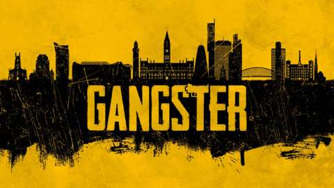 Gangster podcast branding image