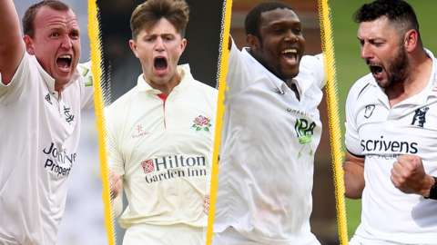 Nottinghamshire, Lancashire, Hampshire and Warwickshire in County Championship contention