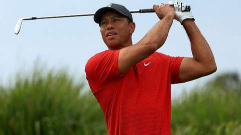 Tiger Woods on December 20, 2020 in Orlando, Florida.