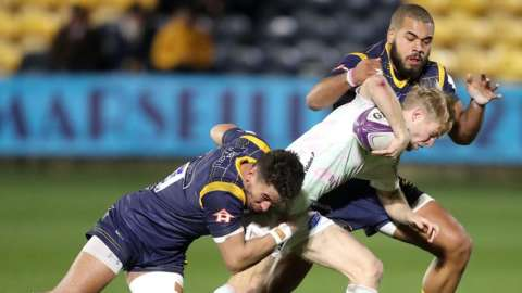 Worcester and Ospreys have now met three times in the Challenge Cup - and this was the Welsh side's first win