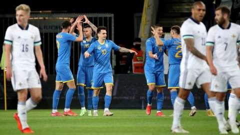 Ukraine celebrate