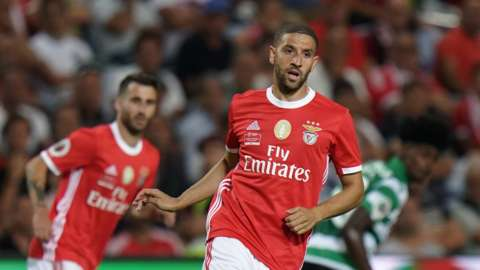 Benfica and Morocco's Adel Taarabt