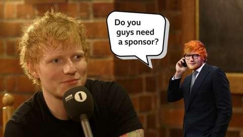 Multiple Grammy-award winning artist Ed Sheeran talks about sponsoring his hometown club.