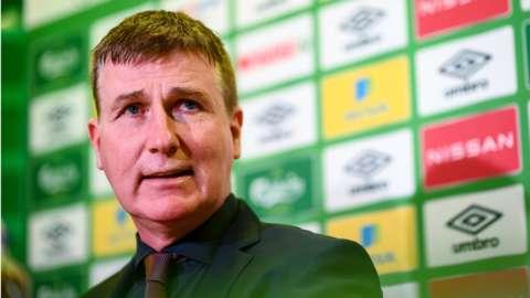 Republic of Ireland boss Stephen Kenny
