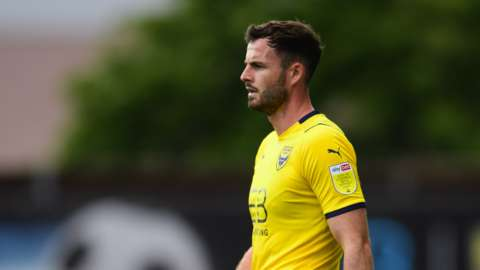 Oxford United's Anthony Forde