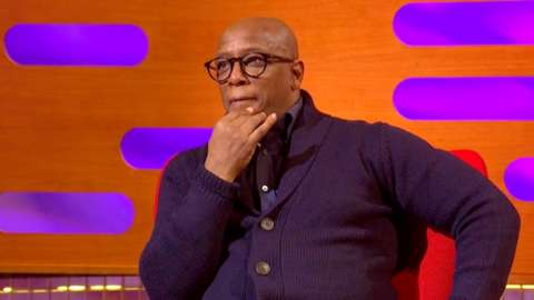 Ian Wright on The Graham Norton Show