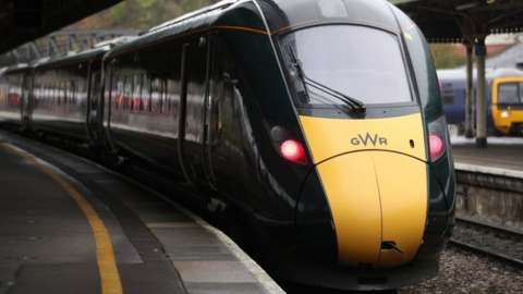 File photo of a GWR train at a station