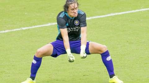 Orlando defender Rodrigo Schlegel