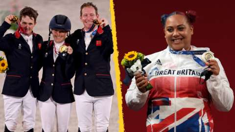 GB eventers and Emily Campbell