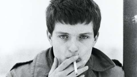 Ian Curtis portrait