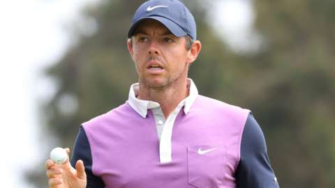 Rory McIlroy at the US Open
