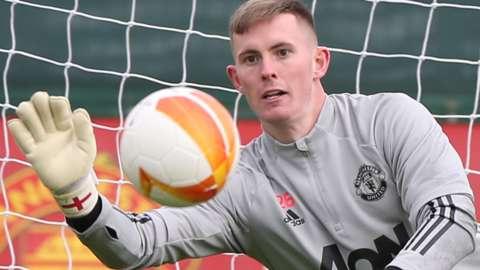 Manchester United's Dean Henderson